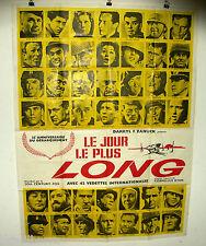 AFFICHE CINEMA : LE JOUR LE PLUS LONG 1962