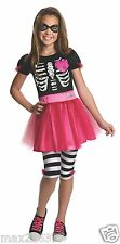 new Rubies skull Trick-or-Treat Barbie halloween Costume Child TODDLER 2-4 years