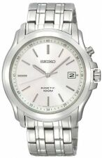 Seiko Kinetic Mens Silver Dial Watch SKA487P1 SKA487