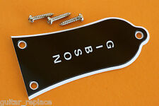 Truss Rod Cover Gibson Les Paul Guitar Color Negro Black Cubierta Alma Guitarra