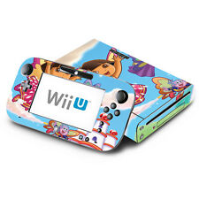Skin Decal Cover for Nintendo Wii U Console & GamePad Dora SaveCrystal Kingdom