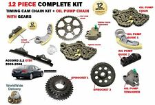 FOR HONDA ACCORD 2.2 CTDI N22A1 2003-2008 TIMING CAM CHAIN KIT + OIL PUMP KIT