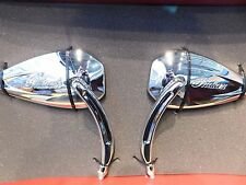 Genuine Indian Motorcycle Pinnacle Mirrors Dynamic Laterally Tapered Design