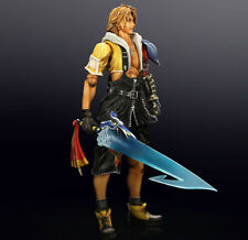 FINAL FANTASY 10 X HD REMASTER TIDUS PLAY ARTS ACTION FIGURE SQUARE ENIX 26CM #1