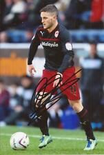 CARDIFF * CRAIG CONWAY SIGNED 6X4 ACTION PHOTO+COA