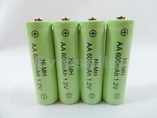 4 AA 600mAh Ni-Mh Rechargeable Battery for Solar Landscape Path Lights C4