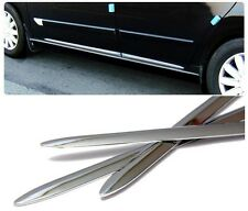 Chrome Side Door Sill Garnish Molding Trim For Hyundai KIA Chevy UNIVERSAL