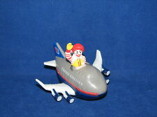 McDonalds Happy Meal Toy United Airlines Ronald McDonald Airplane Plane Car 1991