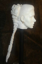 "1/6 12"" Female Custom Princess Slave Leia Star Wars Head Sculpt Phicen Hot Toy"