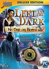 LEFT IN THE DARK: NO ONE ON BOARD Hidden Object Deluxe Ed PC Game CD-ROM NEW