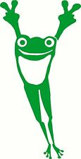 Peace Frog for Car Truck Wall Laptop Decal Vinyl Sticker Decor style 2