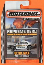 2015 Matchbox Supreme Hero Collection Ford Crown Victoria Police Kootenai County