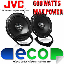 Toyota Auris  07-14 JVC 16cm 6.5 Inch 600 Watts 2 Way Rear Door Car Speakers