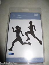 Quickutz Runners dies cookie cutters marathon gym exercise man woman track