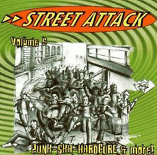STREET ATTACK VOL.5 Punk Ska Hardcore  Sampler CD (2003 Noisegate) Neu!