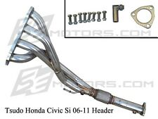 Honda Civic Si 06 07 08 09 00 01 Tsudo stainless FG2 K20 4-2-1 FA5 Racing Header