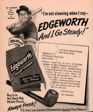 AD LOT OF 5  VINTAGE EDGEWORTH TOBACCO ADS TIN HOTEL GARNI LARUS CO SCHACHT