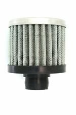 Universal Mini Oil Filter Universal Air Breather Performance 12mm Silver