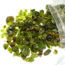 PERIDOT-ARIZONA 1000g (1 Kilo) MINE RUN LOT-GUARANTEED 12-15% CLEAN FACET GRADE!