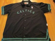NIKE REWIND NBA BOSTON CELTICS BASKETBALL WARM UP JACKET JERSEY BLACK SIZE 3XL