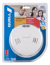 Quell Photoelectric Smoke Alarm 240V Interconnect plus  new safety law compliant
