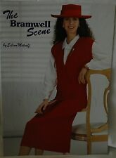 Bramwell Scene by Eileen Metcalf- Knitting Machine Book 14 Patterns - M691