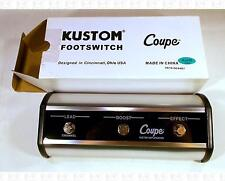 Kustom 36 72 Coupe 3-Button Lead Boost Effect Footswitch New In Box