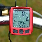 2015 Cycling Bike Bicycle Cycle Computer Odometer Speedometer Waterproof Red
