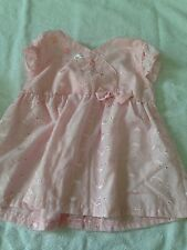 Little Lindsey girls 24 months dress shirt top embroidered floral sumer