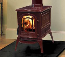 Vermont Castings Aspen Red Bordeaux Wood Burning Stove 81% Efficient Deep Narrow