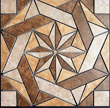 "22 1/4"" Tile Medallion - Daltile's Heathland series, floor or wall. EBAY SPECIAL"