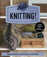 Make Me!: Hello Knitting! by Sarah Hazell (2016, Paperback)