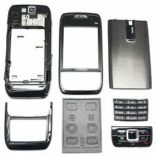 BRAND NEW KEYPAD + COVER + LENS + CHASSIS FULL HOUSING FOR NOKIA E66 #BLACK