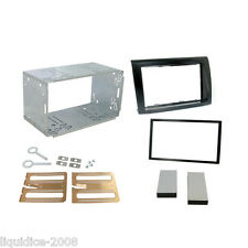 Ct23ft05a FIAT BRAVO 2007 DOPPIO DIN FASCIA Facia Adapter Plate KIT