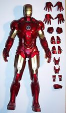 "12"" / 1/6TH SCALE HOT TOYS IRON MAN TONY STARK MARK IV MARK 4 LOOSE FIGURE"
