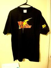 Genuine Back To The Future Tour Adult Size Large Black T-Shirt Rare Both Sided L