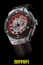 "Hublot Ferrari Watch Poster Formula One- F1- Watch Poster Art Print  16"" x 24"""