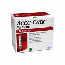 ACCU- CHEK PERFORMA 500 TEST STRIPS NEW STOCK - january 2018 FREE SHIPPING