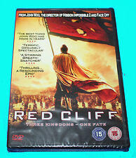 RED CLIFF - The Kingdoms - One Fate -  DVD - NEW IN SEALED BOX