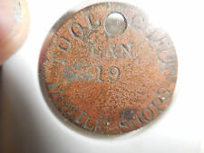 TOOL CHECK #19  L & N MOBILE SHOPS TOKEN/TAG MOBILE,ALA.--ONLY 1 KNOWN