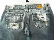 Buckle BKE Ginger Sz 27 Distressed Denim Jeans Women's Board Shorts