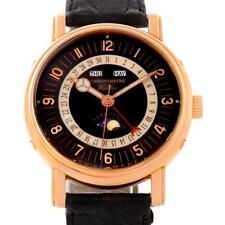 Waldan Astronic Triple Date Moonphase 18K Rose Gold Watch