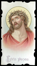 OLD HOLY CARD OF ECCE HOMO