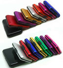 Case Wallet Credit Card Holder Protect RFID Scanning Metal Deluxe