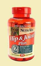 NUTRI-VET HIP & JOINT Health Care Level 2 Liver 75 Chewables Moderate care Dogs