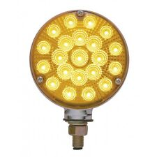 Double Face Turn Signal (42 LED ) Amber /Red      SEMI-TRUCK FENDER
