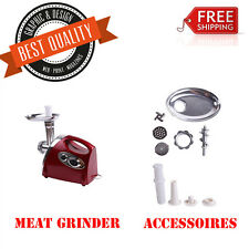 Luxury Stainless Steel 2800W Electric Meat Grinder Mincer Sausage Stuffer New