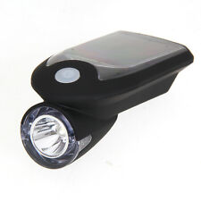 Bike Bicycle LED Solar USB 2.0 Rechargeable Front Head Light Headlight Lamp