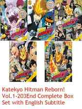 DVD ANIME Katekyo Hitman Reborn Vol.1-203End Complete Box Set English Sub
