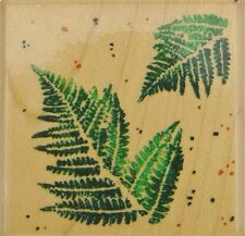 FERN Rubber Stamp F035 Stampendous! Brand NEW! flowers floral garden leaves